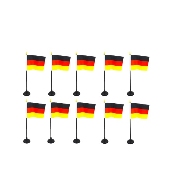 "Fan package ""Germany"" mini flags different countries WM Soccer"