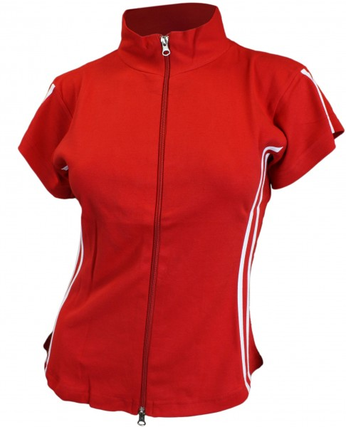 "Zip Top ""Sport"" Girls Shirt Baumwolle"