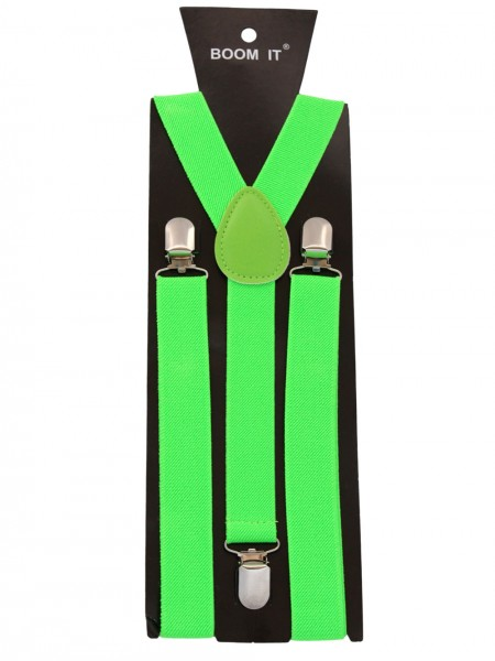 "Suspenders ""Uni"" Gents 3 Clips Uni Color"