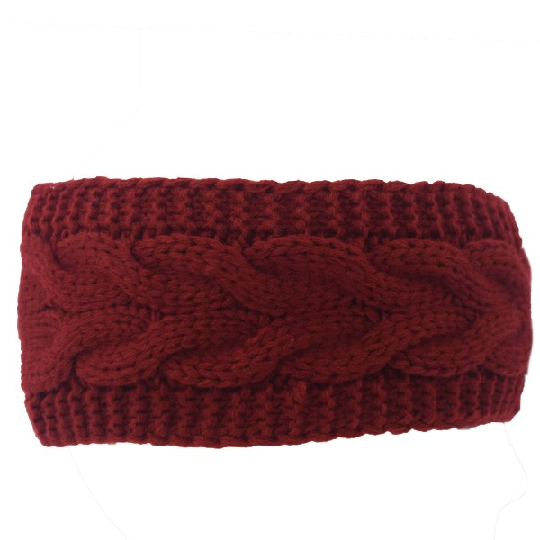 Stirnband Unisex Damen Ohrwärmer Winter Warm Strick