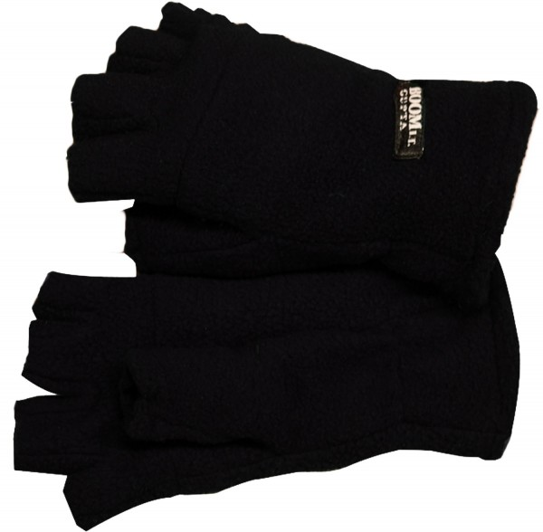 Fleece Gloves Halffinger Winter Unisex