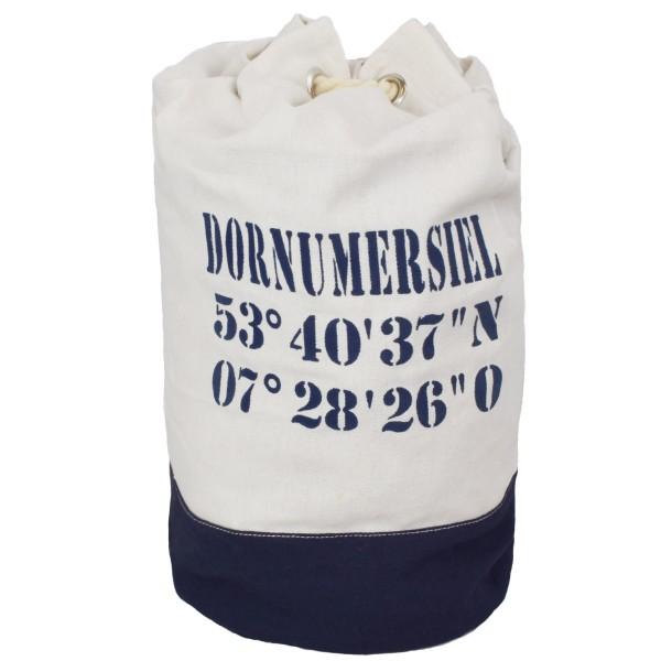 "XL Sea Bag ""Dorumersiel"" Maritime Navy Backpack"