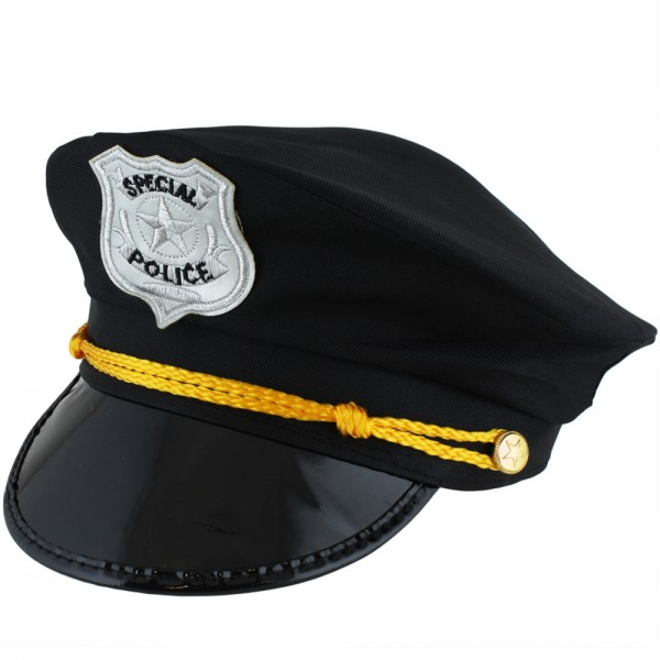 "Hat ""Police Officer"" Policeman Costume Carneval"