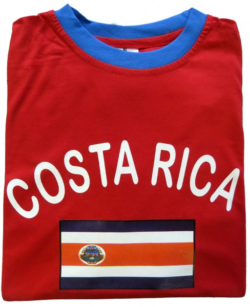 "Fan-Shirt ""Costa Rica"" Unisex Football Worldcup T-Shirt Men"