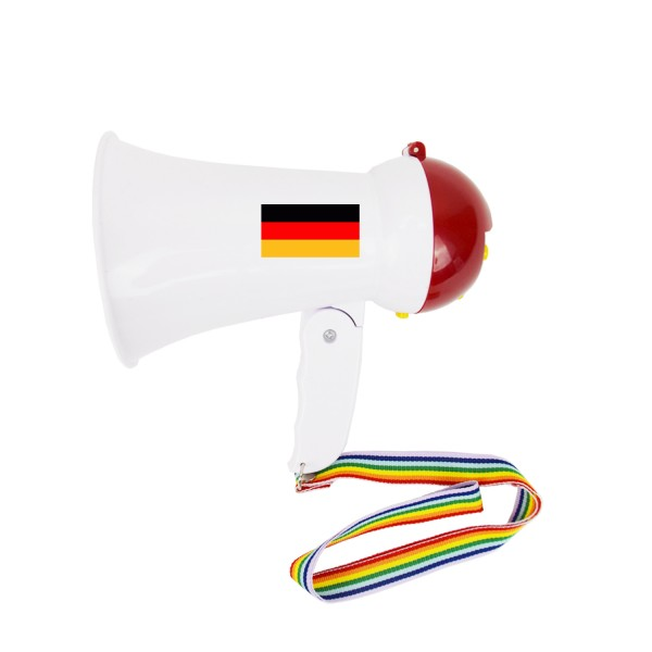 "Megaphone ""Small"" Fan Horn Worldcup Countries Football Sound Soccer"