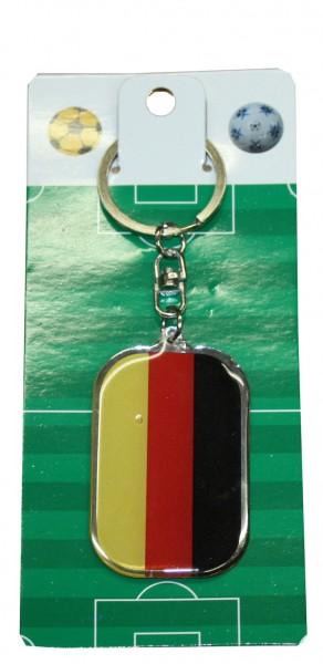 """Key Ring """"Oval"""" Germany Hamburg Fan Worldcup Soccer"""