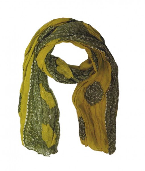 "Scarf Long ""India"" Summer"