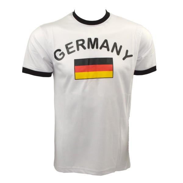 """Fan-Shirt """"Germany"""" Unisex Fußball WM EM Herren T-Shirt"""