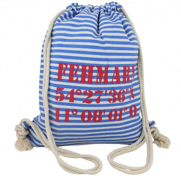 "City Rucksack ""Fehmarn"" Tasche Bag Backpack Maritim"