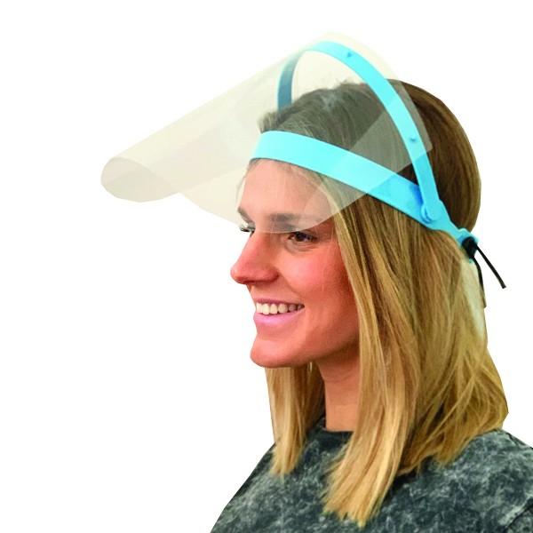 2 Stück Gesichtsschutz aufklappbar Visier Mundschutz Gesichtsmaske