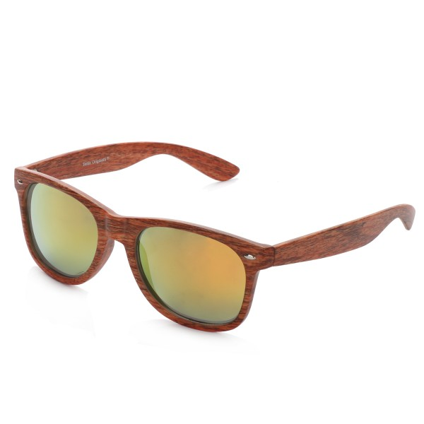 "Sunglasses ""Wooden Classic"" Mirrored Glasses Summer"