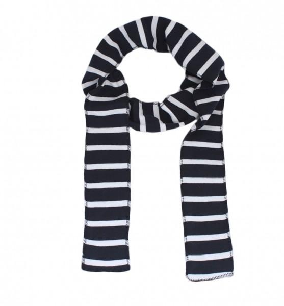 Scarf Long Maritime Stripes Cotton Summer