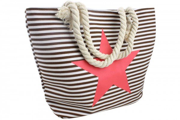 "Strandtasche Stern ""Laura"" Beachbag Shopper"