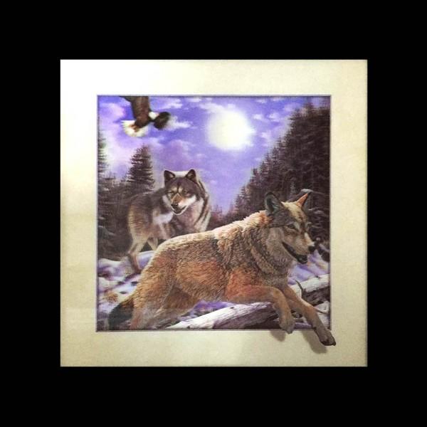 """5D Bilder """"Tiere"""" Wanddekoration Fotos Illusion"""