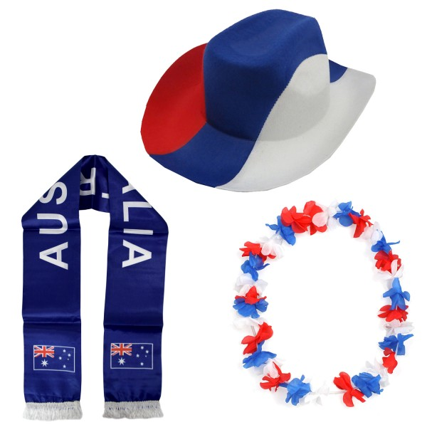"""Fan Package """"Australia"""" Worldcup Football Soccer Cheer Party SET-1"""