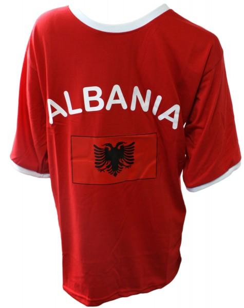 """Fan-Shirt """"Albania"""" Unisex Fußball WM EM Herren T-Shirt"""