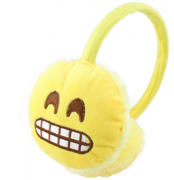 "Ear Muff ""Smiley"" Phone Unisex Faces Winter"