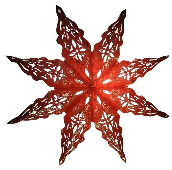 Weihnachtsstern 40cm Papier-Stern Weihnachtsdeko