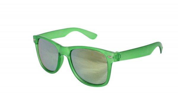 Sun Glasses Mirrored Transparent Party Fun
