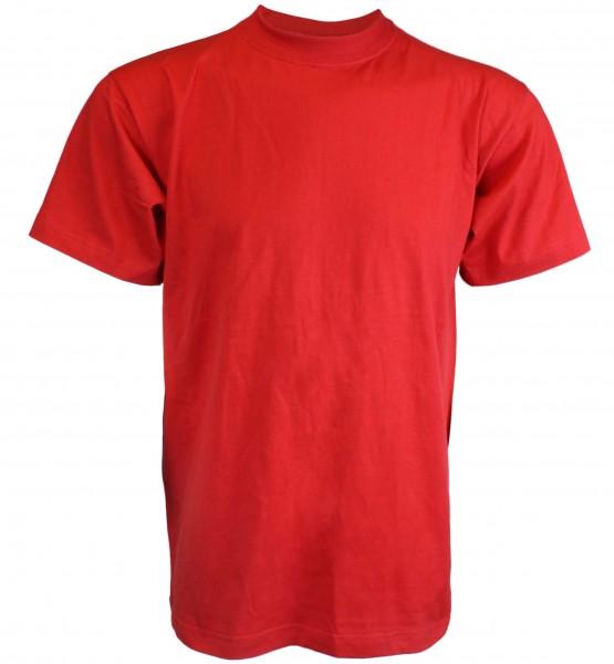 """T-Shirt """"Uni"""" Herren Einfarbig Basic Baumwolle"""