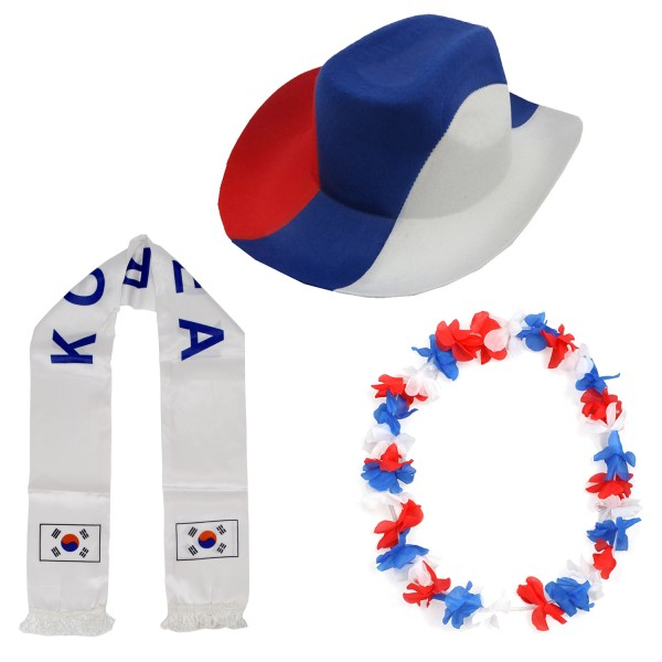 "Fan Package ""South Korea"" Worldcup Football Soccer Cheer Party SET-1"