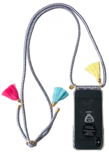 "Mobile Phone Chain ""Suitable for Iphone Models"" Tassel Necklace Case Smartphone Protection"
