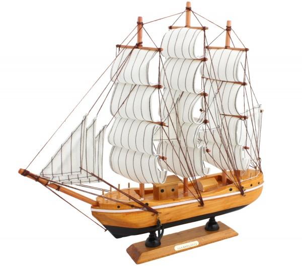"Segelschiff ""S"" Modellschiff Dekoration Schiff Maritim"