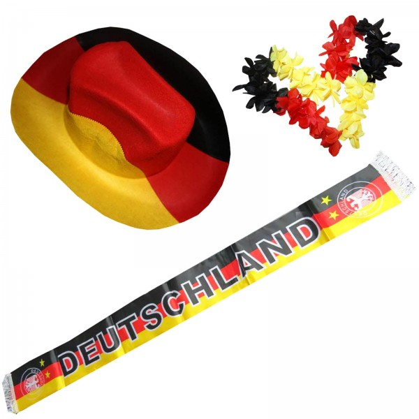 """Fan Package """"Germany"""" Worldcup Football Soccer Cheer Party SET-1"""