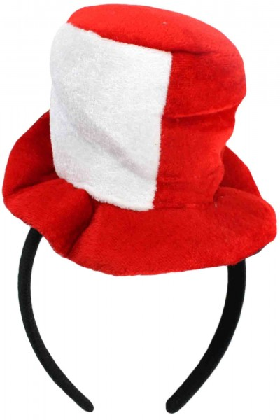"""2 Pieces """"Fan Alice Band"""" Cylinder Hat Worldcup Football Women"""