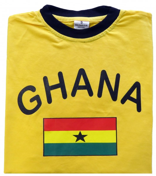 "Fan-Shirt ""Ghana"" Unisex Football Worldcup T-Shirt Men"