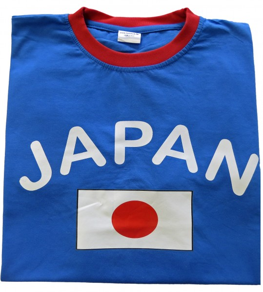 "Fan-Shirt ""Japan"" Unisex Fußball WM EM Herren T-Shirt"