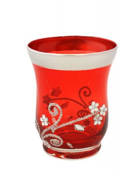 "2 Pieces Tea Candle ""Dekor"" Decoration Present"