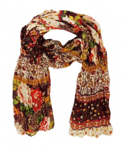 "Scarf Long ""Patchwork"" Summer"