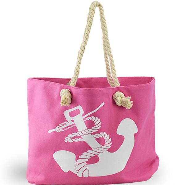 """XL Strandtasche Anker """"Birgit"""" Beachbag Shopper Maritim"""