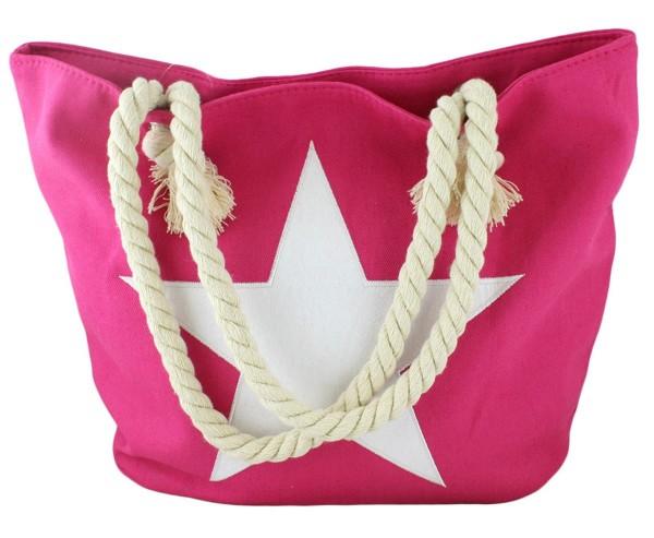 "Beach Bag Star Uni ""Emma"" Embroidery Shopper"