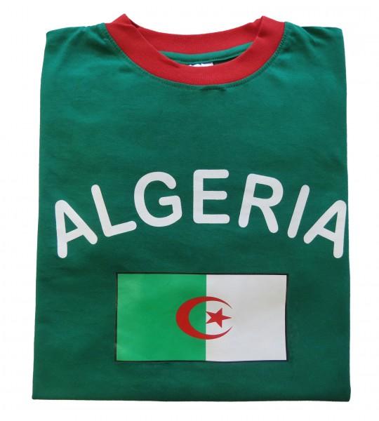 """Fan-Shirt """"Algerien"""" Unisex Fußball WM EM Herren T-Shirt"""
